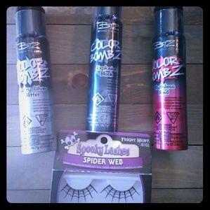 BTZ Color Bombz 3 hair color n pair of lashes
